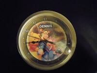 "PERSONALIZED WINNIE THE POOH CLOCK ""DENNIS"" FOR NURSERY ROOM"