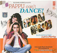 PAPPU CAN'T DANCE - NEW BOLLYWOOD SONGS DVD - FREE UK POST
