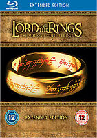 The Lord of the Rings: The Motion Picture Trilogy (Extended Edition) [Blu-ray] [