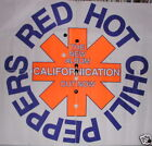 RED HOT CHILI PEPPERS Huge Californication Promo Poster