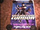 OPERATION CONDOR ROLLED 27X40 MOVIE POSTER JACKIE CHAN