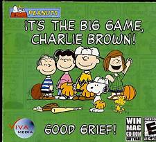 Peanuts It's The Big Game Charlie Brown CD ROM PC GAME