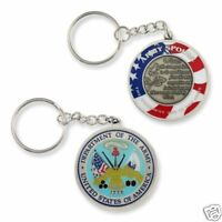 ARMY WIFE SPOUSE CHALLENGE COIN  KEY CHAIN