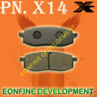 BRAKE PADS for YAMAHA YZ125 IT TT YZ TT 350 YZ490 TT600