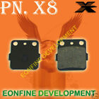 BRAKE PADS For KAWASAKI KX80 KX85 KX100 KX 80 85 KSF250