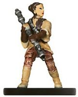 STAR WARS MINIATURES IE - LEIA, BOUNTY HUNTER
