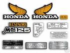 1974 Honda MT125 Elsinore - 10 pc. decal set