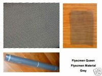 Flyscreen Material Insect Screening by Metre Grey