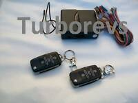 UNIVERSAL KEYLESS ENTRY KIT REMOTE CENTRAL LOCKING