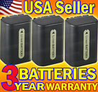 Three (3) Batteries for Sony NP-FH50 FH40 FH30 1000mAh