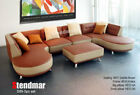 5PC MODERN EURO DESIGN LEATHER SECTIONAL SOFA S89P5