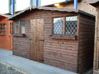 Garden Shed/summer house/12ft x 8ft royal Adams