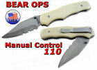 Bear OPS G-10 Manual Control Clip Point MC-110-DS4-P-SR