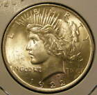 BU 1922 Peace Dollar 90% Silver Very Nice 130923-15