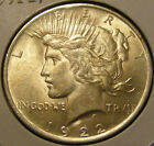 BU 1922 Peace Dollar 90% Silver Very Nice 130923-16