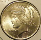 BU 1922 Peace Dollar 90% Silver Very Nice 130923-25