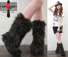 WARM Bear ESKIMO Fury Gray Rock Fruits Punk EMO Boots