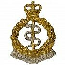 RAMC Officers Collar Badges, Royal Army Medical Corps