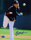 Tommy Hanson SIGNED 8x10 Photo RookieGraph PSA/DNA AUTOGRAPHED