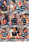 2001 ESP AFL Heroes Cards Base Team Set Geelong (9)