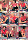 2001 ESP AFL Heroes Cards Base Team Set Melbourne (9)
