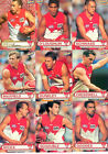 2001 ESP AFL Heroes Cards Base Team Set Sydney(9)