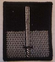 Commando Dagger Badge, Patch, TRF, Military, Flash, Army, Embroidered, Arm
