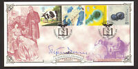 #GB A G BRADBURY FDC 1999 PATIENTS TALE SIGNED BY STEPHEN DORRELL  LTD EDITION