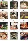"Cork Back COASTER by Legacy, Create your own Set, Price Each-""Cats at Play"""
