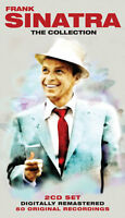 Frank Sinatra The Songs Collection 2 CD 50 Tracks of 1950s 1960s Original Music
