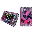 Purple Butterfly Vinyl Case Decal Skin To Cover Dell Streak 7 Tablet