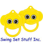 TRAPEZE MONKEY RINGS  PLAYGROUND SWING SET SEAT TOY CHILDREN OUTDOORS PARK  0108