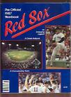1987 Boston Red Sox Official Yearbook EX (Sku-10110)
