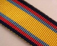 "Gulf War 1991 Medal Ribbon, Miniature Size, Army, Military, Mini, 6"", Mounting"