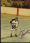 Jim Morrison Signed Autograph 3x5 Old Timers Game