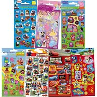 Kids Foil Character Stickers - Multiple Designs Moshi Monsters - New (S200)