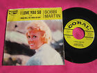 BOBBI MARTIN - I Love You So - Near Mint Promo 45 rpm w/ Picture Sleeve