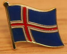 ICELAND Country Metal Flag Lapel Pin Badge
