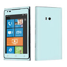 USA Made Ice Blue Vinyl Case Decal Skin To Cover Your Nokia Lumia 900