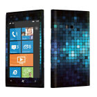 USA Made Mosaic Blue Vinyl Case Decal Skin To Cover Your Nokia Lumia 900