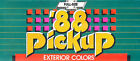1988 Chevrolet Truck Paint Color Brochure Guide - C/K Silverado Pickup