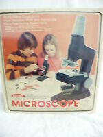 DA-  VINTAGE SKILCRAFT NO 415 SENIOR MICROSCOPE SET