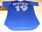 2012 Toronto Blue Jays MLB Baseball Jersey 48 Jose Bautista Blue Pro Authentic