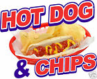 Hot Dog Chips Decal 24