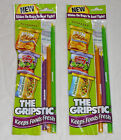 6 The Gripstic Seal Tight Food Snack Bags Grip Stic Stick Chips Cereal Clip