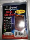 ULTRA PRO REGULAR SOFT SLEEVES - PACK OF 100 #81126 FITS JERSEY/PATCHWORKS CARDS