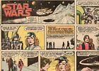 STAR WARS Newspaper Comic Strip Sunday October 12 1980 / 1/2 Tab 13 x 8.5