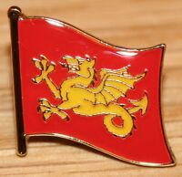 Wessex Anglo Saxon England County Flag Enamel Pin Badge UK Great Britain