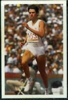 Scarce Trade Card of Kathy Cook, Athletics 1986