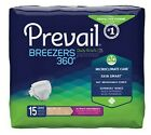 "64 XL First Quality Prevail Adult Disposable Briefs, Poly, 59"" to 64"", Diapers"
